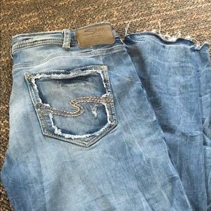 Silver jeans size 34